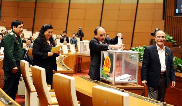 phiếu tín nhiệm, nhân sự, bộ trưởng, Đinh Duy Hòa