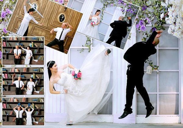 Ngắm bộ ảnh cưới độc đáo của hai HLV võ thuật