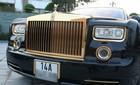 Xe sang và điện thoại mạ vàng của đại gia Móng Cái