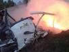 Hiện trường máy bay rơi khiến nhiều tướng tá Thái chết