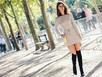 2 cách dễ dàng diện váy len gợi cảm nhất