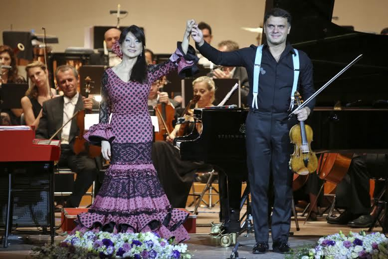 Toyota classics, nhạc cổ điển, siêu paganini, Pamela Tan Nicholson, Vasko Vassilev