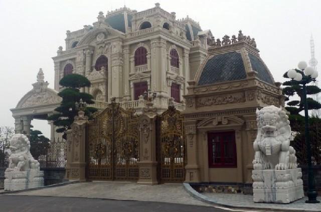 Nội thất độc nhất vô nhị lâu đài triệu đô ở Hà Nam