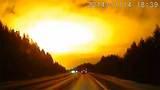 Ánh sáng bí ẩn biến đêm thành ngày ở Nga