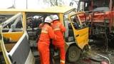 TQ: Hai ô tô đấu đầu, 11 học sinh mầm non thiệt mạng