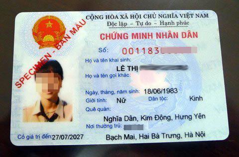 Đổi chứng minh thư thành thẻ căn cước công dân