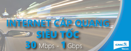 CMC Telecom, FTTX, Internet cáp quang