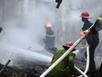 Cháy kho chứa quạt trên đường Nguyễn Chí Thanh