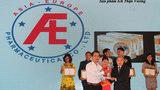 Dược phẩm Á Âu nhận giải thưởng Tin & Dùng 2014