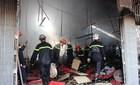 Cháy xưởng in trong khu dân cư, nhiều người hoảng loạn