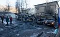 12 siêu xe bị thiêu rụi trong biển lửa