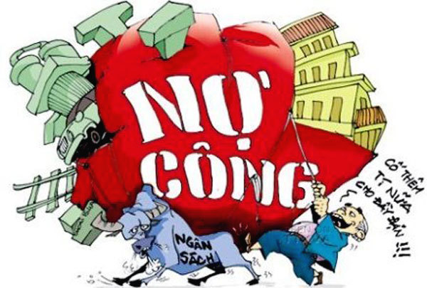 Chênh vênh cán cân ngân sách vì nợ công