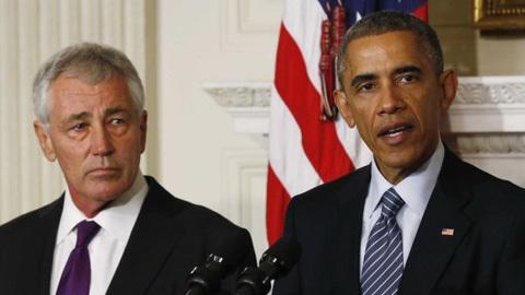 Chuck Hagel, từ chức, Barack Obama, Bộ trưởng Quốc phòng, Mỹ