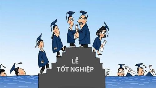 cử nhân, thạc sĩ, tiến sĩ, thất nghiệp, tuyển dụng, thị trường lao động, đại học, bộ trưởng