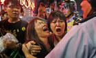 Hình ảnh người biểu tình Hong Kong lại ùn ùn xuống phố