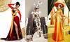 Hoa hậu mất điểm vì những trang phục cắt xẻo kỳ dị