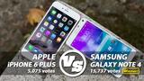 Người dùng khen Note 4 hơn iPhone 6 Plus?