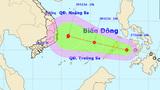 Đêm nay, áp thấp nhiệt đới vào biển Đông