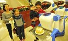 Nhà hàng toàn robot phục vụ