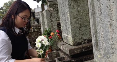 Đến Nhật Bản viếng mộ công chúa Ngọc Hoa