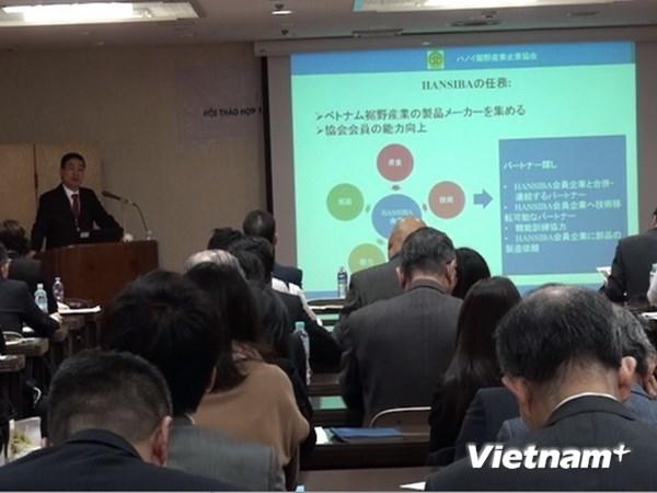 Tổ chức ba hội thảo lớn về CN hỗ trợ Việt Nam tại Nhật