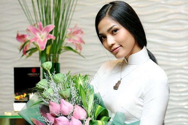 Hoa hậu, Trương Thị May, ăn chay