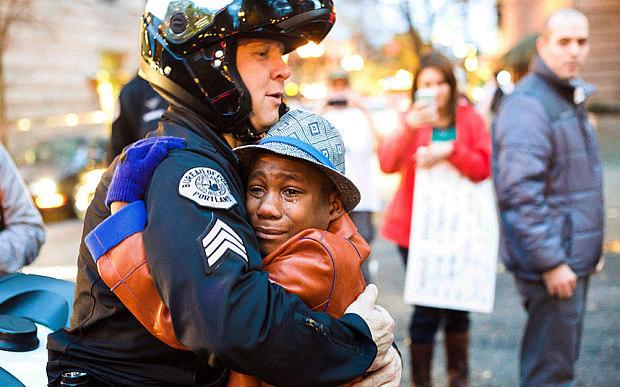 phân biệt chủng tộc, Ferguson, bạo loạn