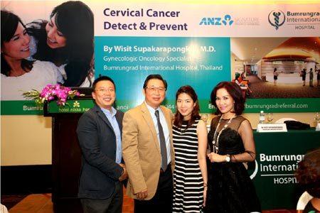 Chuyên gia Thái Lan tư vấn về Ung thư Cổ tử cung