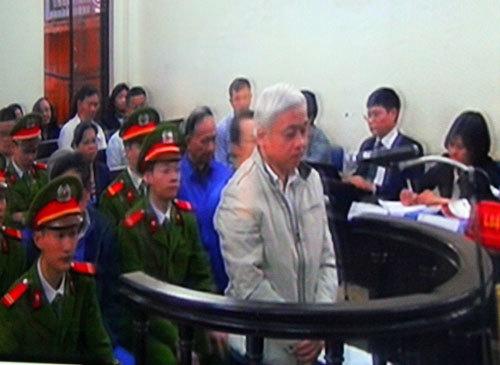 Nguyễn Đức Kiên tiếp tục phủ nhận tội 'kinh doanh trái phép'