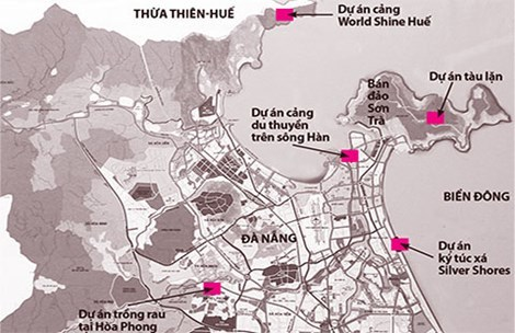 Đà Nẵng: Loạt dự án 'nhạy cảm' đụng đến khu vực phòng thủ