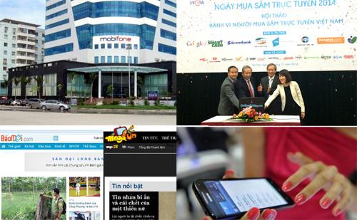 CNTT-VT tháng 11, MobiFone, VNPT, Viettel, xử phạt, website, mua sắm trực tuyến, cổ phần hoá MobiFone