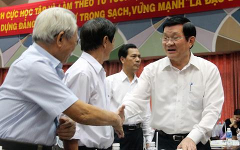 Chủ tịch nước, Trương Tấn Sang, Tổng TTCP, Trần Văn Truyền, tham nhũng, phiếu tín nhiệm, từ chức, chủ quyền