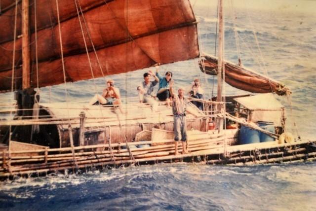 Đóng bè tre Thanh Hóa vượt 5.000 dặm Thái Bình Dương sang Mỹ