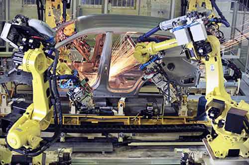 Lắp ráp, gia công mơ mộng xuất khẩu ô tô