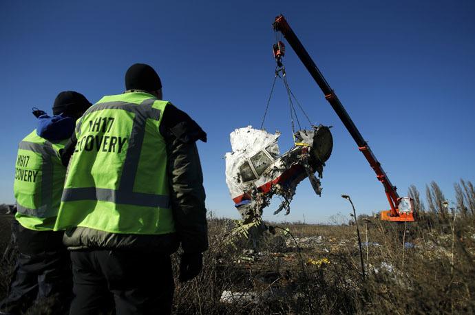Vụ MH17: EU từng yêu cầu Ukraina đóng không phận
