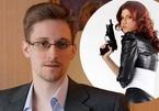 """""""Điệp viên sexy"""" Nga cầu hôn Snowden theo lệnh thượng cấp"""