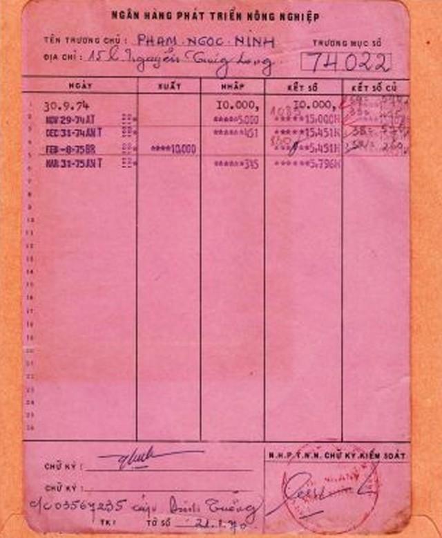 Những quyển sổ tiết kiệm nửa thế kỷ rao bán giá 50.000 đồng