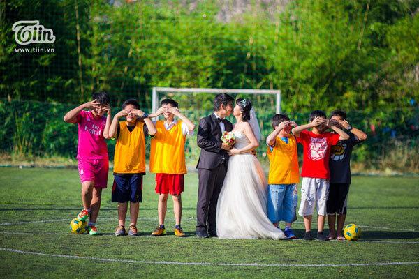 Những bộ ảnh cưới độc, lạ của giới trẻ Việt