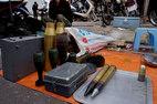 'Chợ súng đạn' đặc biệt ở Thủ đô
