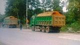 Để xe chở quá tải, nhà thầu bị thu hồi giấy phép