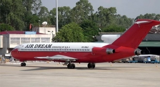 Bán sắt vụn chiếc máy bay bỏ quên 7 năm ở Nội Bài