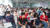 Ga Sài Gòn tăng cường tàu dịp Tết dương lịch
