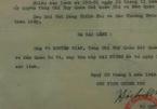 Sắc lệnh của Bác phong Đại tướng cho ông Võ Nguyên Giáp