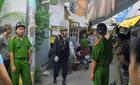 Hàng trăm cảnh sát bao vây căn nhà trong chuyên án ma túy