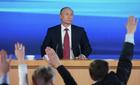 Chi tiết cuộc họp báo 'giữa khủng hoảng' của Putin