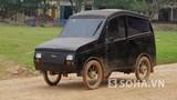 Ôtô tự chế siêu dị của thợ làng Nghệ An