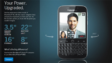 BlackBerry, BlackBerry Classic