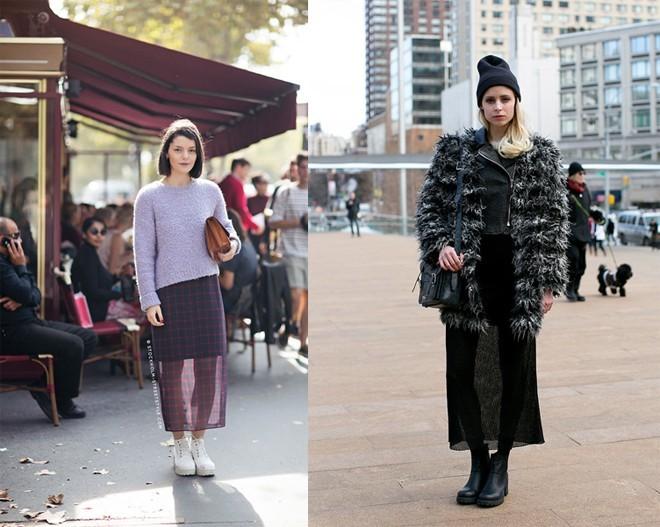 Bí quyết mặc đẹp và độc trong công sở mùa lạnh