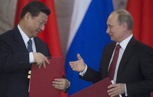 Nga, TQ, Putin, Tập Cận Bình, Moscow