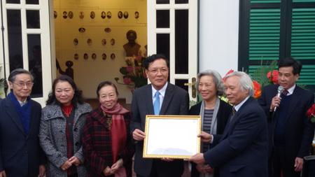 Nguyễn Văn Huyên, bảo tàng, Bộ GD-ĐT, Phạm Vũ Luận, Lai Xá, Hà Nội
